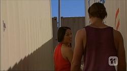 Michelle Kim, Tyler Brennan in Neighbours Episode 7062