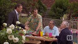 Paul Robinson, Toadie Rebecchi, Karl Kennedy, Harold Bishop in Neighbours Episode 7063