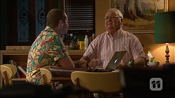 Toadie Rebecchi, Harold Bishop in Neighbours Episode 7063