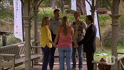 Lauren Turner, Matt Turner, Amber Turner, Daniel Robinson, Paul Robinson in Neighbours Episode 7065