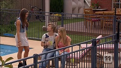 Paige Novak, Daniel Robinson, Amber Turner in Neighbours Episode 7065