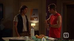 Tyler Brennan, Mark Brennan in Neighbours Episode 7066