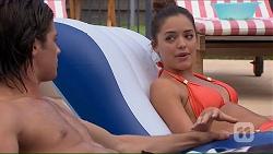 Tyler Brennan, Paige Novak in Neighbours Episode 7066