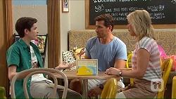 Bailey Turner, Matt Turner, Lauren Turner in Neighbours Episode 7066