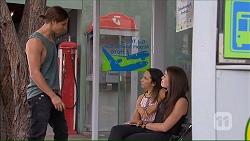 Tyler Brennan, Imogen Willis, Paige Novak in Neighbours Episode 7067