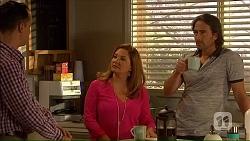 Nick Petrides, Terese Willis, Brad Willis in Neighbours Episode 7067
