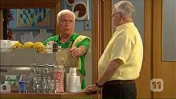 Lou Carpenter, Harold Bishop in Neighbours Episode 7067