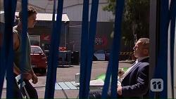 Tyler Brennan, Dennis Dimato in Neighbours Episode 7067