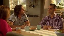 Terese Willis, Brad Willis, Nick Petrides in Neighbours Episode 7067