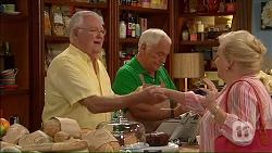 Harold Bishop, Lou Carpenter, Sheila Canning in Neighbours Episode 7067