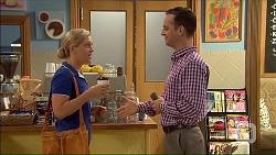 Georgia Brooks, Nick Petrides in Neighbours Episode 7067