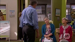 Karl Kennedy, Janice Stedler, Hilary Robinson in Neighbours Episode 7068