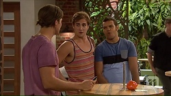 Tyler Brennan, Kyle Canning, Nate Kinski in Neighbours Episode 7068