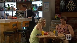 Paul Robinson, Georgia Brooks, Kyle Canning in Neighbours Episode 7068