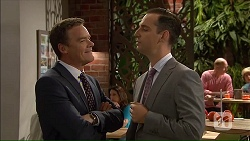 Paul Robinson, Nick Petrides in Neighbours Episode 7068