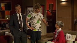 Paul Robinson, Daniel Robinson, Hilary Robinson in Neighbours Episode 7069