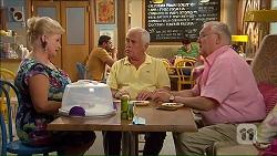Sheila Canning, Lou Carpenter, Harold Bishop in Neighbours Episode 7069
