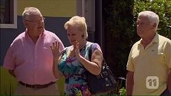 Harold Bishop, Sheila Canning, Lou Carpenter in Neighbours Episode 7069