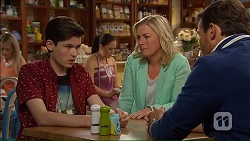 Bailey Turner, Lauren Turner, Matt Turner in Neighbours Episode 7069