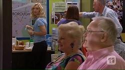 Georgia Brooks, Sheila Canning, Harold Bishop in Neighbours Episode 7069