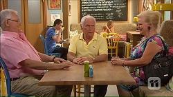 Harold Bishop, Lou Carpenter, Sheila Canning in Neighbours Episode 7069
