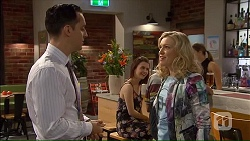 Nick Petrides, Georgia Brooks in Neighbours Episode 7069