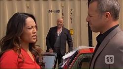 Michelle Kim, Dennis Dimato in Neighbours Episode 7069