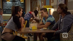 Paige Novak, Josh Willis, Brad Willis in Neighbours Episode 7070