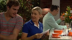Kyle Canning, Georgia Brooks, Nick Petrides in Neighbours Episode 7070