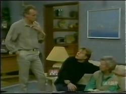 Jim Robinson, Scott Robinson, Helen Daniels in Neighbours Episode 0298