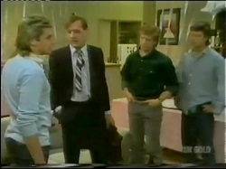 Shane Ramsay, Lawyer, Clive Gibbons, Mike Young in Neighbours Episode 0298