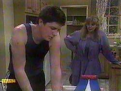 Joe Mangel, Jane Harris in Neighbours Episode 0868