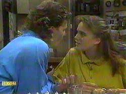 Henry Ramsay, Bronwyn Davies in Neighbours Episode 0868