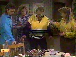 Henry Ramsay, Madge Bishop, Harold Bishop, Bronwyn Davies in Neighbours Episode 0868