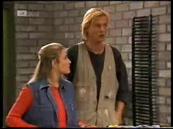 Lauren Turner, Brad Willis in Neighbours Episode 1966