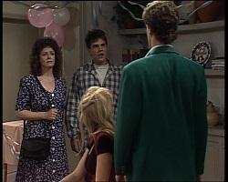 Lorraine Foster, Mark Gottlieb, Annalise Hartman, Luke Foster in Neighbours Episode 2068