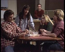 Malcolm Kennedy, Susan Kennedy, Karl Kennedy, Libby Kennedy, Billy Kennedy in Neighbours Episode 2251
