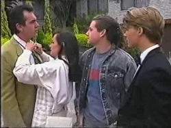 Karl Kennedy, Susan Kennedy, Toadie Rebecchi, Billy Kennedy in Neighbours Episode 2388