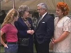Bianca Zanotti, Marlene Kratz, Lou Carpenter, Cheryl Stark in Neighbours Episode 2388