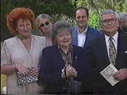 Cheryl Stark, Jen Handley, Marlene Kratz, Philip Martin, Lou Carpenter in Neighbours Episode 2388
