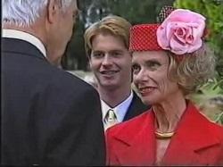 Reuben White, Brett Stark, Helen Daniels in Neighbours Episode 2388