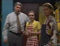 Inspector Stanton, Debbie Martin, Helen Daniels in Neighbours Episode 2767