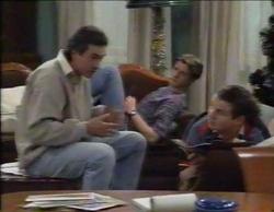 Karl Kennedy, Lance Wilkinson, Toadie Rebecchi in Neighbours Episode 2768