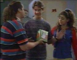 Toadie Rebecchi, Lance Wilkinson, Hannah Martin in Neighbours Episode 2768