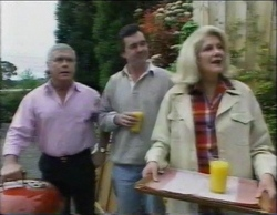 Lou Carpenter, Karl Kennedy, Madge Bishop in Neighbours Episode 2768