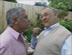 Lou Carpenter, Harold Bishop in Neighbours Episode 2768