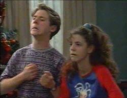 Lance Wilkinson, Hannah Martin in Neighbours Episode 2768