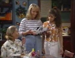 Helen Daniels, Ruth Wilkinson, Hannah Martin in Neighbours Episode 2769