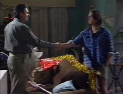 Karl Kennedy, Darren Stark in Neighbours Episode 2771