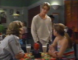 Justin Black, Billy Kennedy, Anne Wilkinson in Neighbours Episode 2794